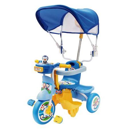 《PUKU》藍色企鵝遮陽三輪車(共二色) 0