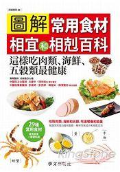 圖解常用食材相宜和相剋百科:這樣吃肉類、海鮮、五穀類最健康