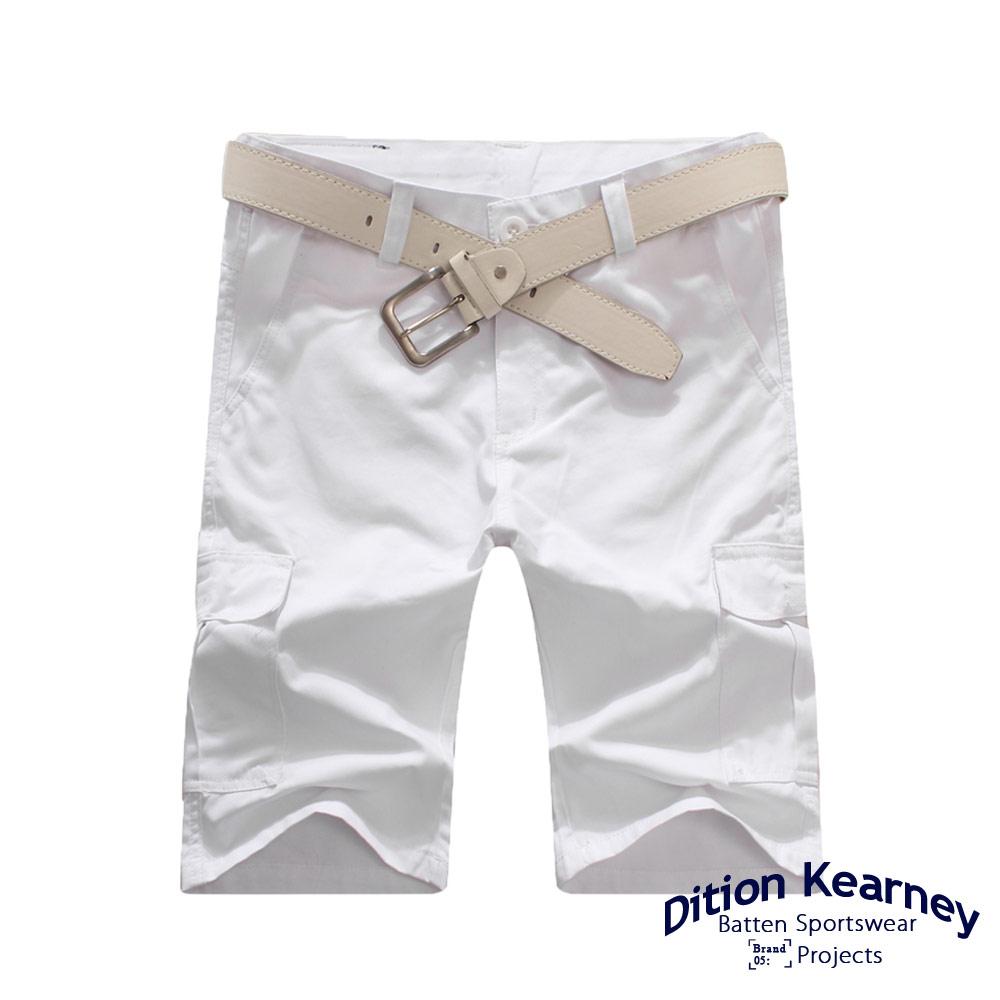 DITION 日系機能口袋outdoor工作短褲 素色 滑板 5