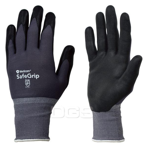 《Medicom》SAFEGRIP 多用途安全耐磨手套 Gloves, Foam Nitrile Coated