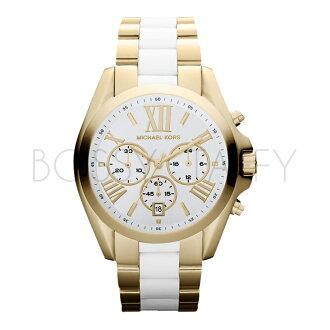 MK5743 MICHAEL KORS 時尚三眼計時女錶防水石英錶