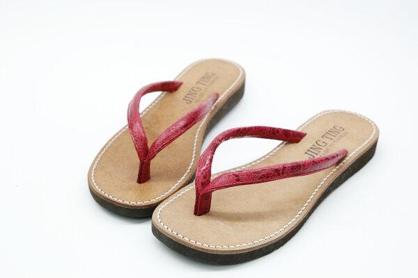 Aimez La Vie:AimezLaVie輕鬆舒適|基本款人字拖真皮台灣製拖鞋
