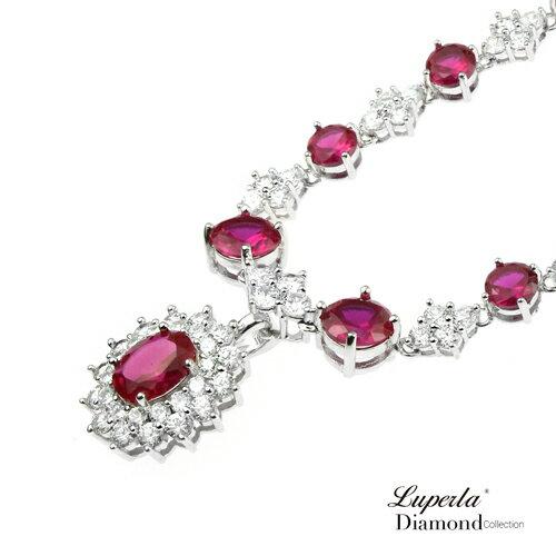 大東山珠寶 薔薇之戀 奢華晚宴精品珠寶項鍊套組 4