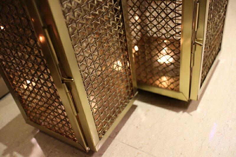Upptäck Deco 萊佛士黃銅提燈 - 全兩個尺寸【7OCEANS七海休閒傢俱】 7