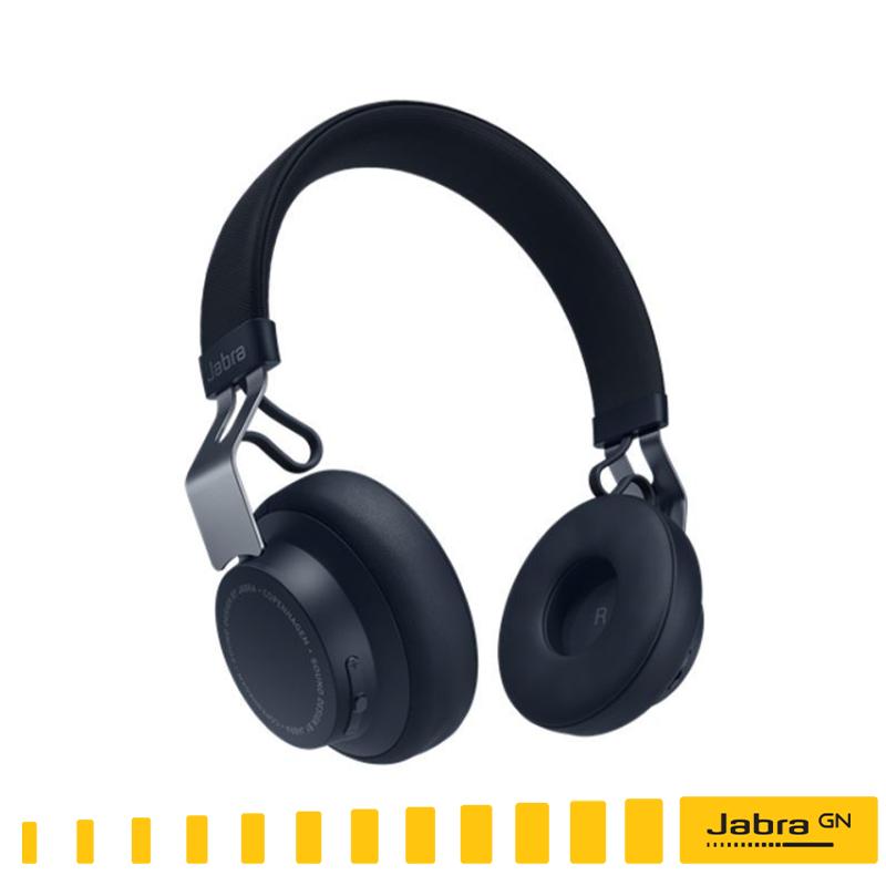 【Jabra】MOVE Style Edition 頭戴式音樂藍牙耳機 (沐舞風尚版)--海軍藍/ 無線藍芽耳機●出色的無線音效/通話時間:長達8小時緊密結合 I Phone /免運