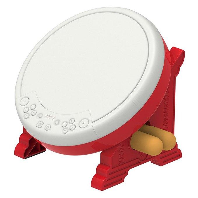 [刷卡價] (缺) NS HORI 太鼓達人專用控制器 專用鼓 for Nintendo Switch