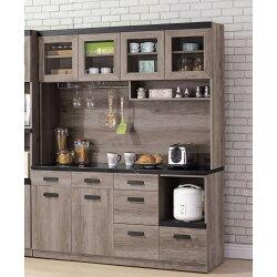 【簡單家具】,H415-02 狄恩石面5.3尺餐櫃(另售2尺收納櫃),大台北都會區免運費,組裝定位到好!