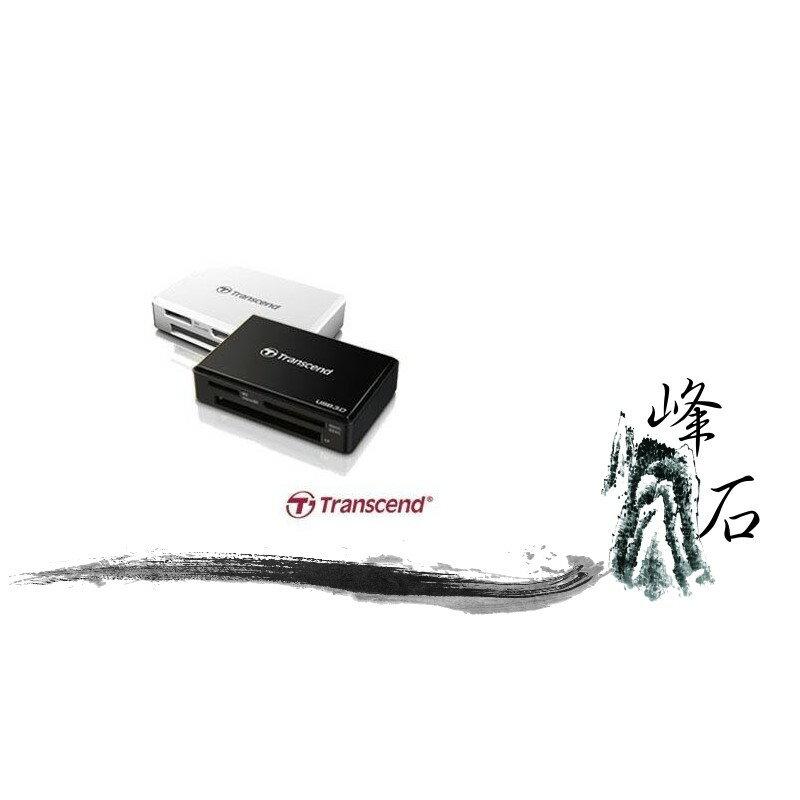 樂天限時優惠!創見 F8 多合一 讀卡機 USB 3.0 TS-RDF8K TS-RDF8W  白