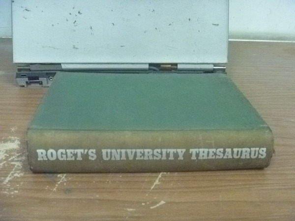 【書寶二手書T5/字典_HIJ】Rogets university thesaurus_1963年