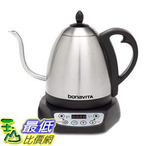[8玉山最低比價網] 美國代購 Bonavita BV382510V 1.0L數字可變溫度細口壺