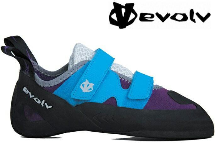 Evolv Raven 攀岩鞋/抱石 女款 藍紫