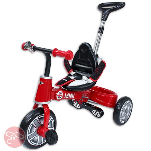 【瑪琍歐玩具】 Mini Cooper 兒童折疊三輪車