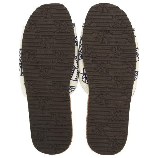 好葉輕軟木室內拖鞋 86073 白24 NITORI宜得利家居 2
