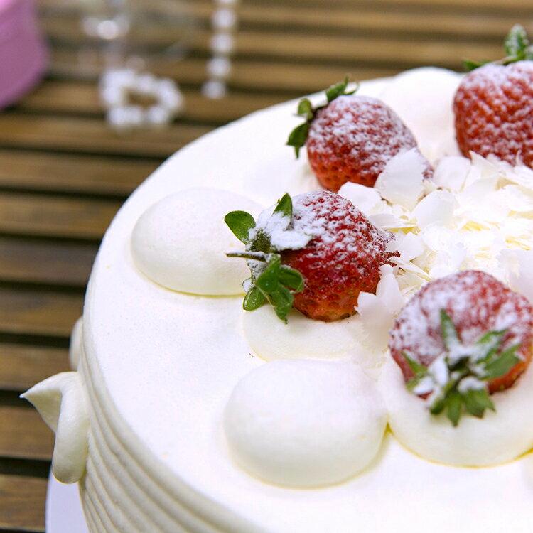日本北海道十勝生乳玩莓蛋糕(6吋)★蘋果日報 母親節蛋糕 第三名【 需五天前預訂】 2