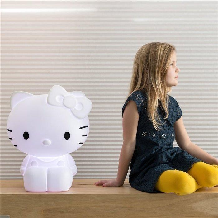 【真愛日本】16042100008LED七彩造型燈-KT  三麗鷗 Hello Kitty 凱蒂貓  可當夜燈/擺飾 荷蘭設計 限量