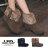 格子舖*【KSB637】韓版流行質感麂皮保暖絨毛造型 金屬釦環 7.5CM內增高厚底增高短靴 2色 0