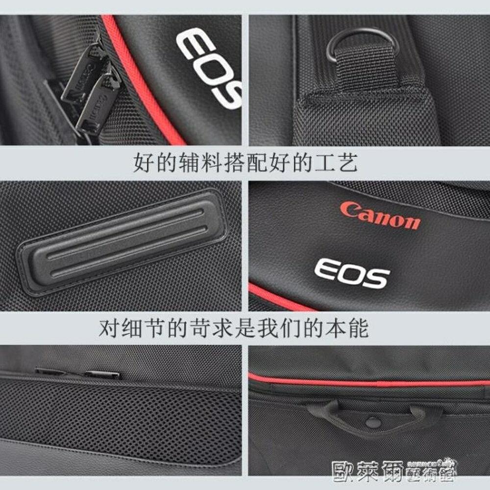 振興 相機包 相機包佳能80D800D6D2EOS單反77D750D5D4原裝單肩防水便攜攝影包 JD 父親節禮物 1