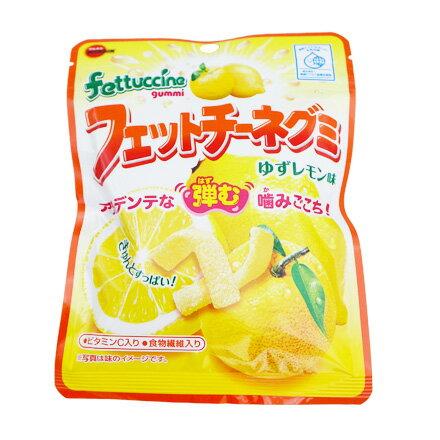 [敵富朗超市]Bourbon北日本 長條軟糖-柚子檸檬 (50g)(賞味期限2018.06.20)