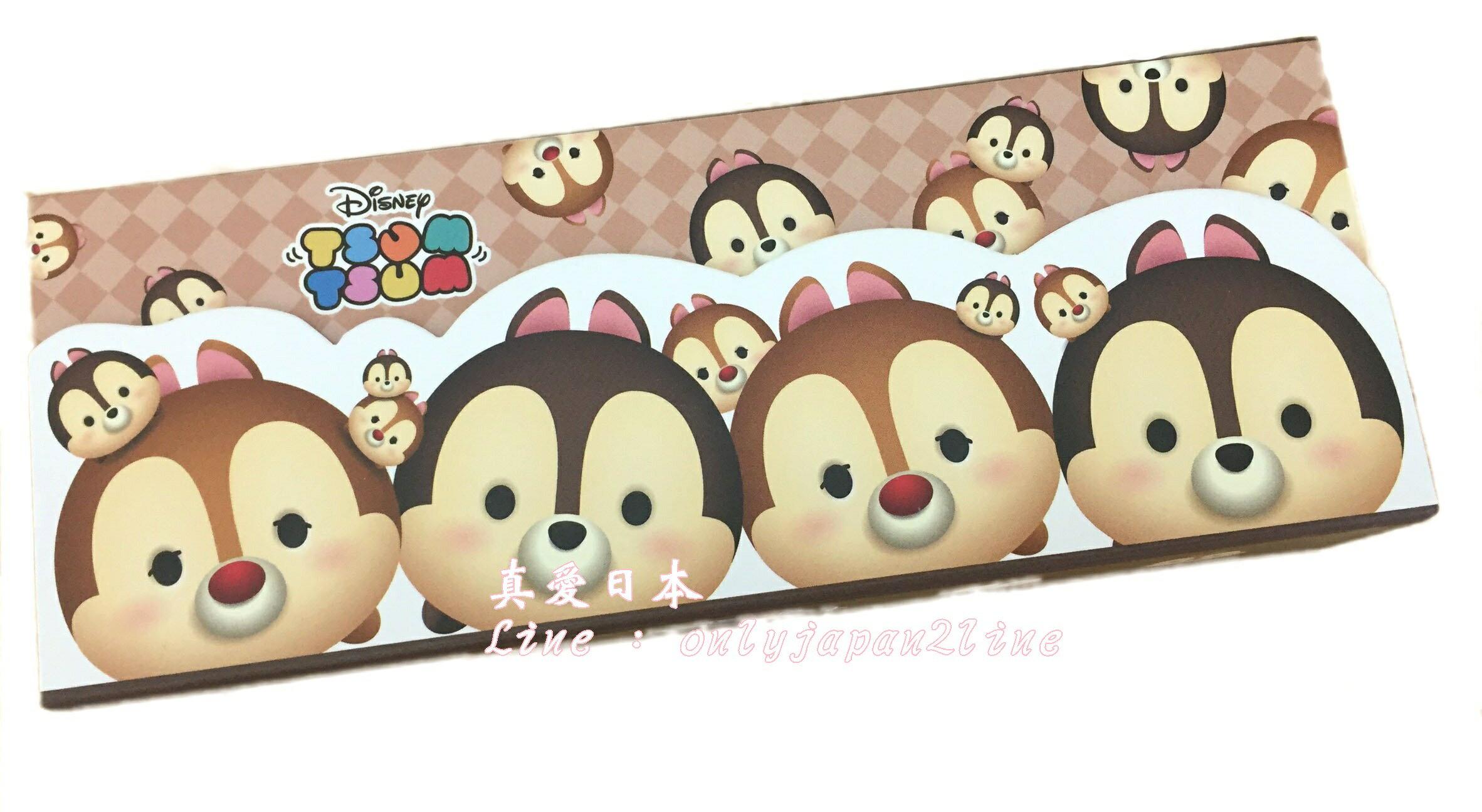 【真愛日本】16063000023TSUM萬用盒-奇奇蒂蒂     迪士尼 花栗鼠 奇奇蒂蒂 松鼠    收納盒  筆盒