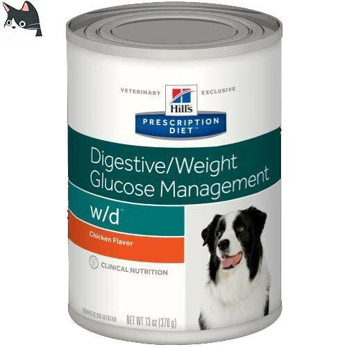 放開那隻貓的腳 Hills 希爾思 希爾斯 希爾思犬 W/ D 狗wd 罐頭 370g 消化/ 體重/ 血糖 7017