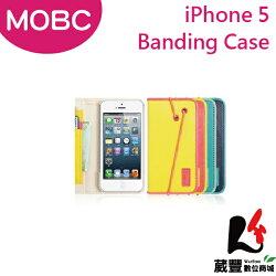 ✿3月APP限定單筆消費滿千領券折百✿Apple iPhone 5 MOBC Banding B/L 保護套