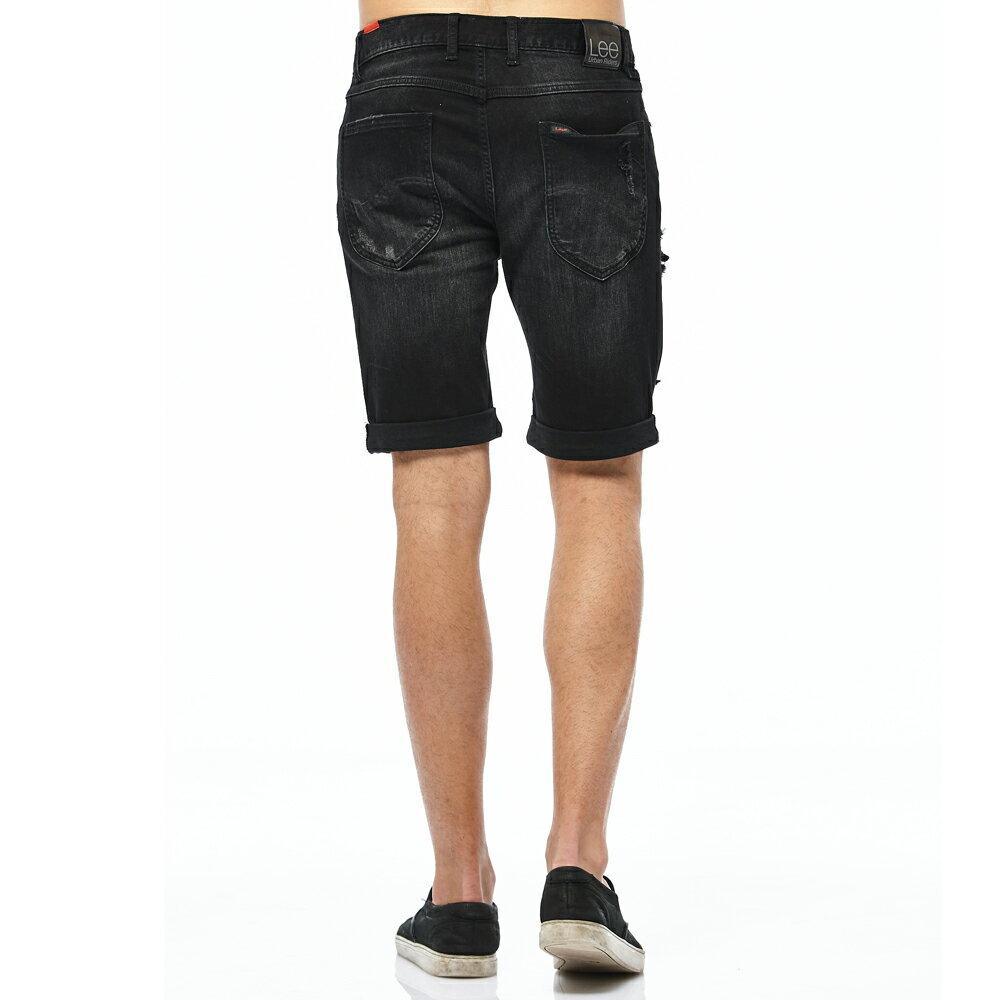 ❤ 短褲$990❤ Lee 牛仔短褲-男款-黑 2