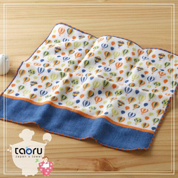 日本毛巾:町娘物語_熱氣球25*25cm(手巾--taoru日本毛巾)