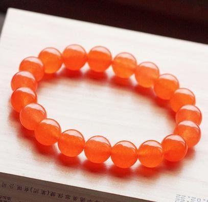 橘子石手鏈 10MM 婉約動人