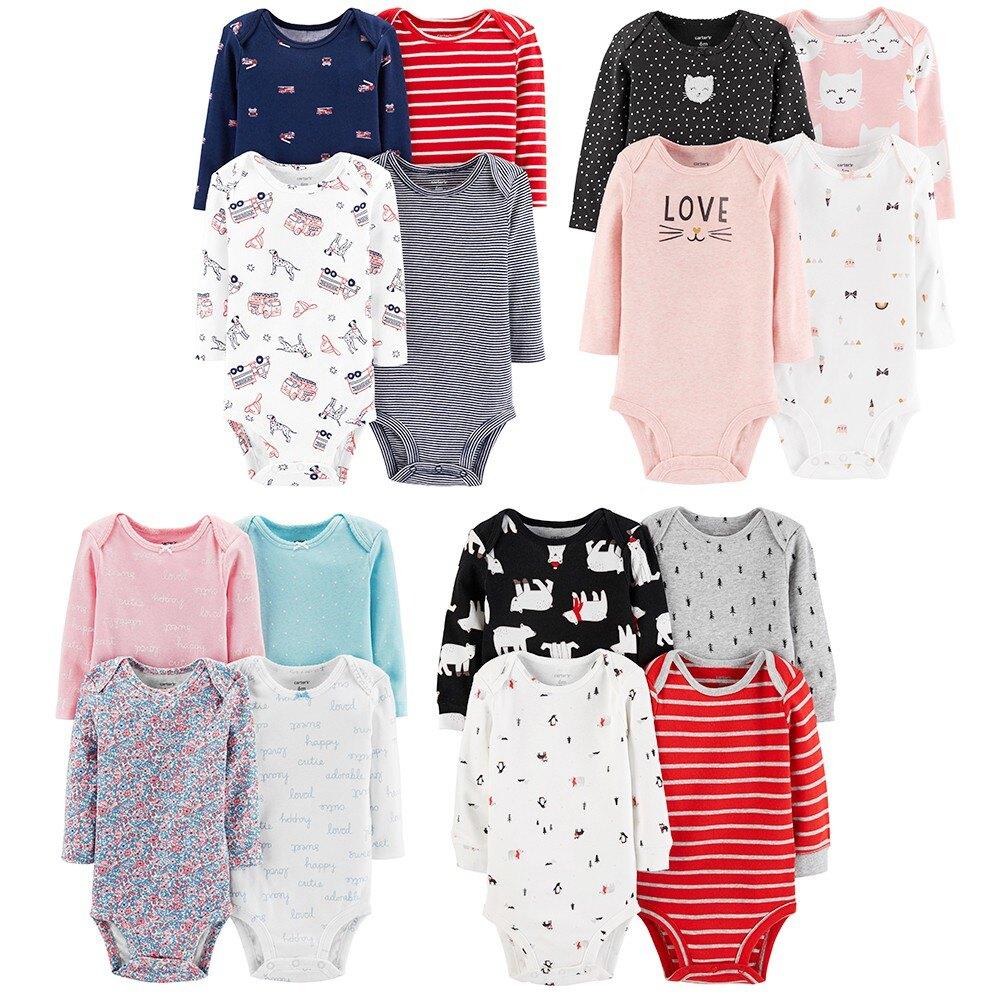 Carter's  美國童裝 包屁衣 四件組《多款可選》 0