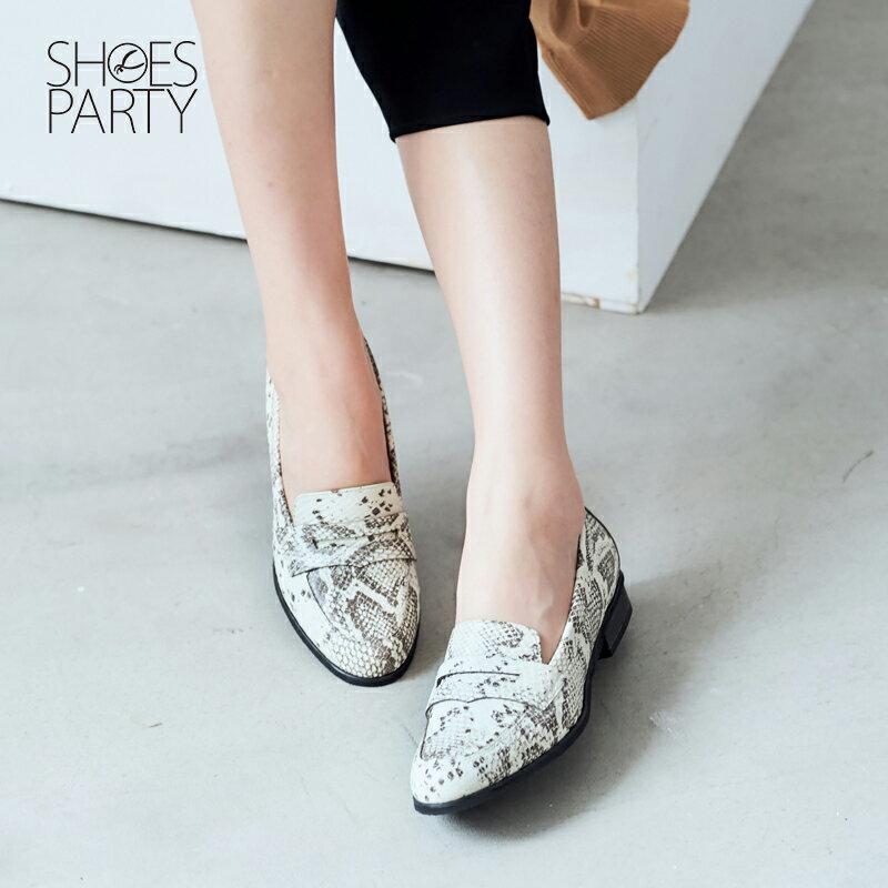 【 P2-17120L 】經典真皮樂福鞋_Shoes Party 5