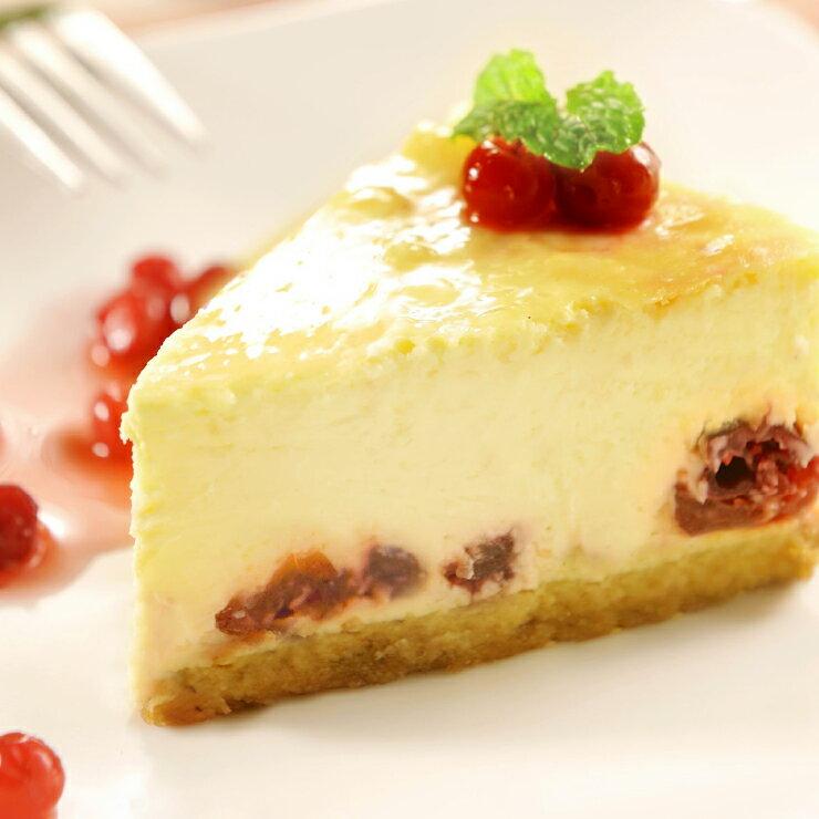 【土匪烘焙事務所】白蘭地蔓越莓重乳酪蛋糕 5.5吋(500g+-5%)