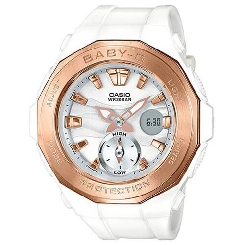 Casio Baby G Analog Digital Beach Glamping BGA220G-7A 0