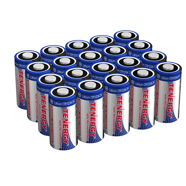 Toppen Tenergy: Tenergy 3V CR123A Lithium Battery, High Performance UU-85