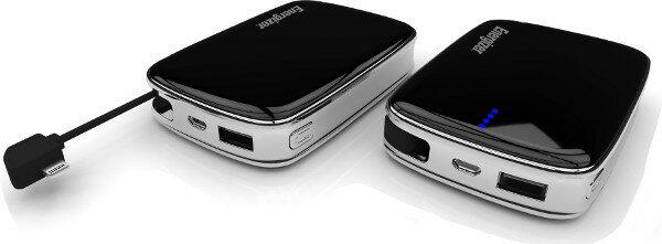 iPhone充電-6000mAh-免帶線-Energizer®勁量行動電源XP6000A-【黑色】-支援iPad, iPhone Lightning手機行動充電