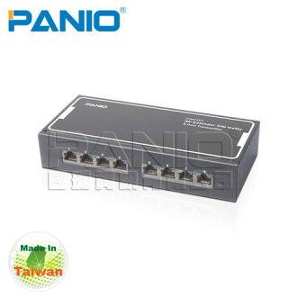 *╯新風尚潮流╭*PANIO VGA Audio Extender 送VAE331R接收器 8埠VGA影音延長器330m VAE338T