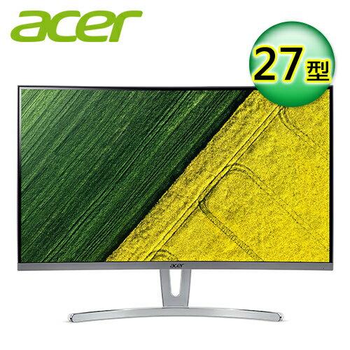 Acer宏碁ED27327型VA曲面薄邊框電腦螢幕【加贈全家35$折扣券】【三井3C】