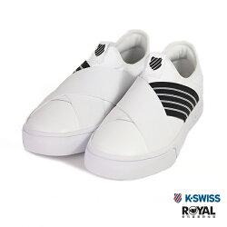 K-SWISS 新竹皇家 Court Lite 白色 皮質 繃帶 休閒鞋 女款 NO.I9389