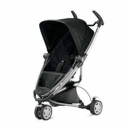 【贈提籃+高腳餐椅】荷蘭【Quinny】Zapp Xtra2 嬰兒推車(銀管黑) 1