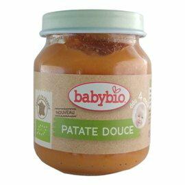 ★衛立兒生活館★法國Babybio寶寶蔬菜泥系列-有 機甜薯泥130g
