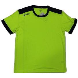 [陽光樂活]ASICS亞瑟士男款短袖T恤K11505-7350螢光黃
