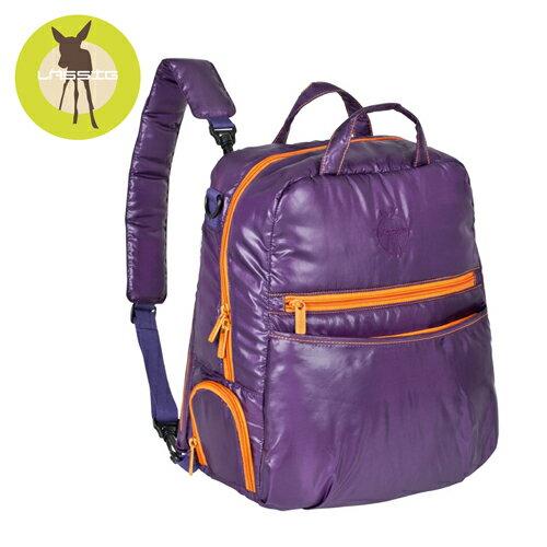 【安琪兒】德國【Lassig】輕感羽量後背空氣包(薰衣草紫) - 限時優惠好康折扣