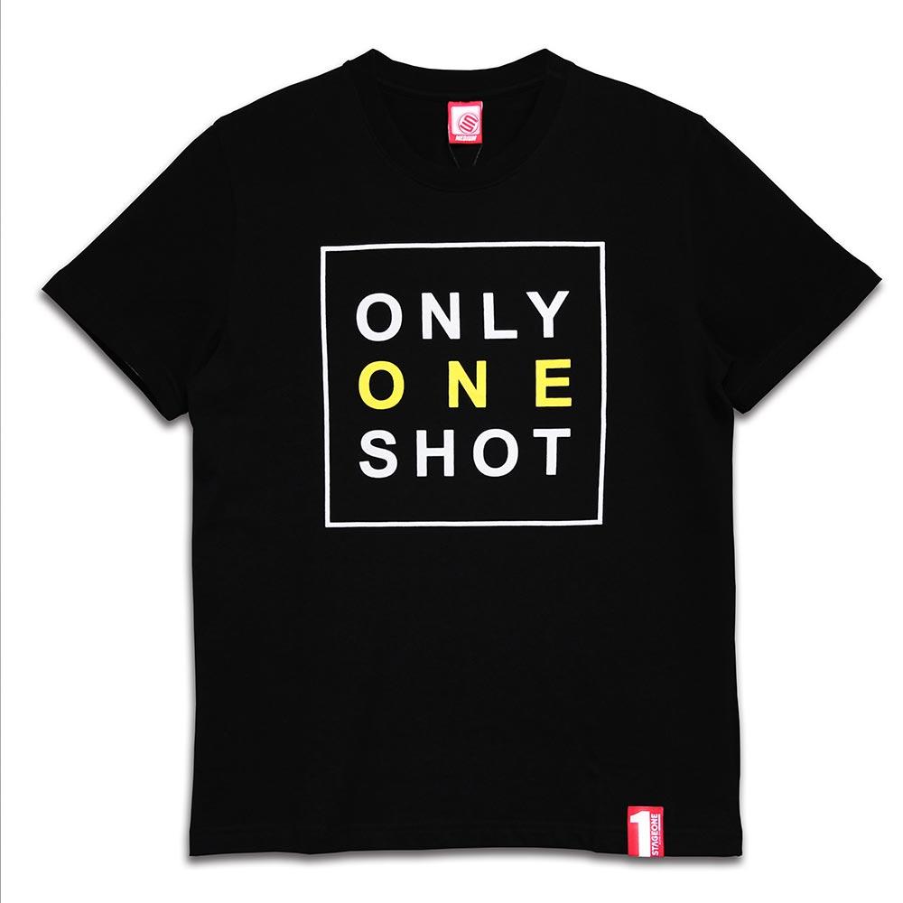 STAGEONE ONE SHOT TEE 黑色 / 粉紅色 兩色 4