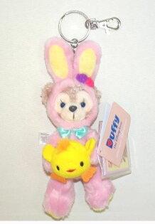 X射線【C918012】香港迪士尼代購-復活節限定雪莉玫ShellieMay吊飾娃娃,絨毛填充玩偶玩具公仔鑰匙圈吊飾玩偶包包吊飾