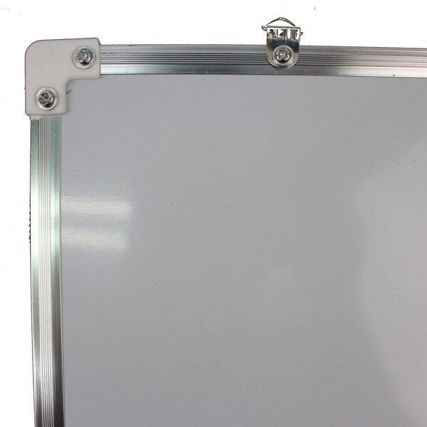 鋁框小白板 雙面磁性小白板 35cm x 50cm  一個入 ~ 促180 ~ ~萬