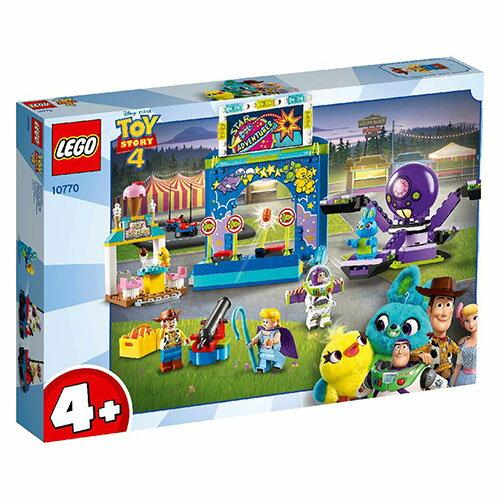 樂高LEGO 10770  Junior 初學級系列 - Buzz & Woody's Carnival Mania! - 限時優惠好康折扣