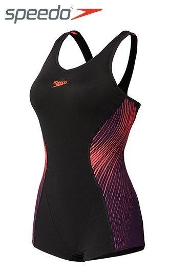 【登瑞體育】SPEEDO女人運動連身平口泳裝 Speedo Fit Extra_SD810397B022