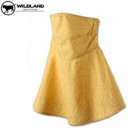 [ WILDLAND 荒野 ] 中性涼感紗抗UV口罩 / 酪黃色 / W1802-33-F