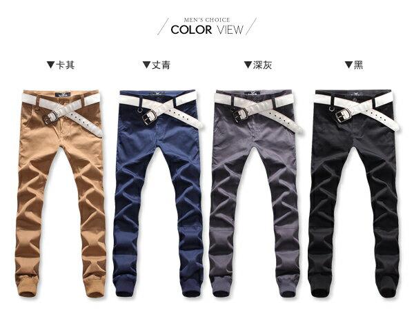 ☆BOY-2☆ 【OE55595】縮口褲 美式潮流卡其束口褲 1