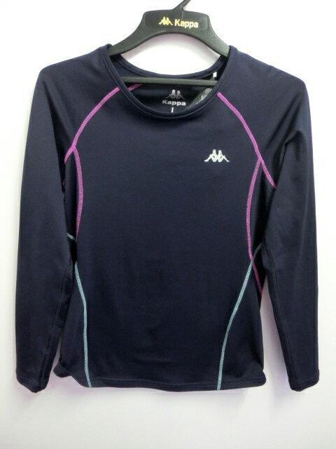 【登瑞體育】KAPPA 女生長袖T恤 - FA89F0593