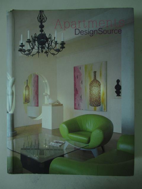 【書寶二手書T3/設計_LFJ】Apartments designsource_Ana